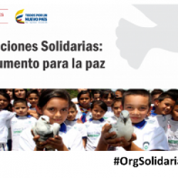 Organizaciones Solidarias: Un instrumento para la paz