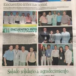 XII Encuentro Internacional de Economía Solidaria